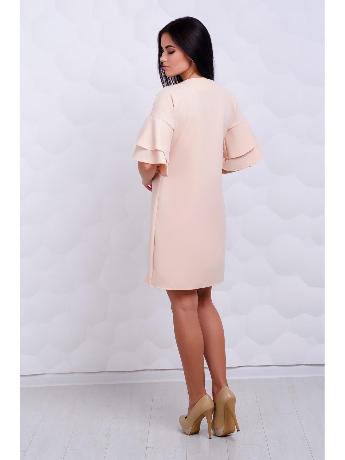Платье Irma-1 Бежевый
