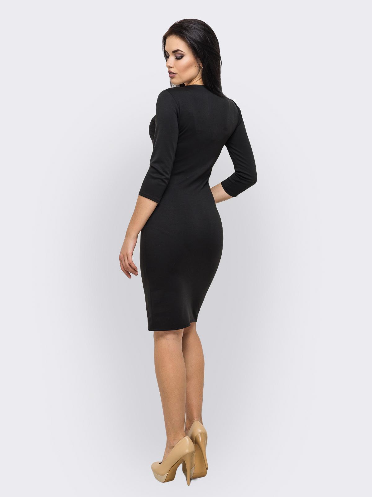 Платье Bella черный