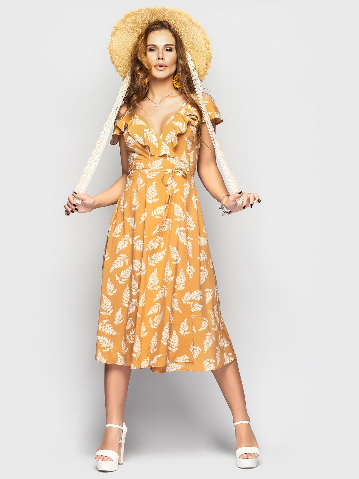 Платье Flamingo  Терракотовый