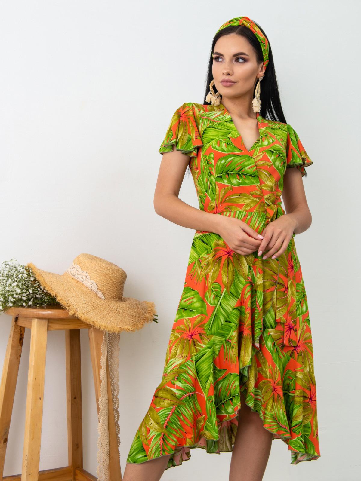 Платье Tropicana Красный принт