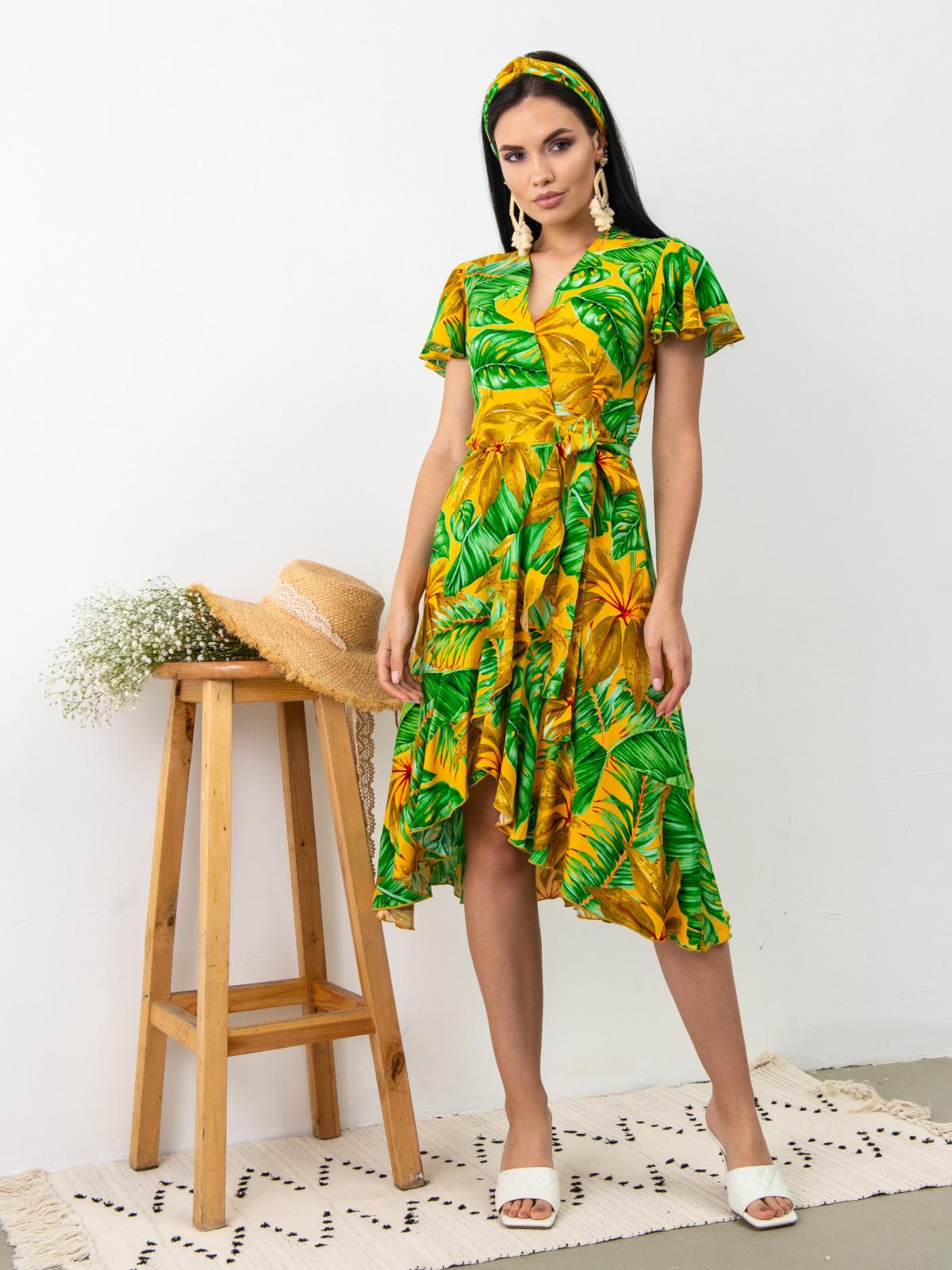 Платье Tropicana Желтый принт