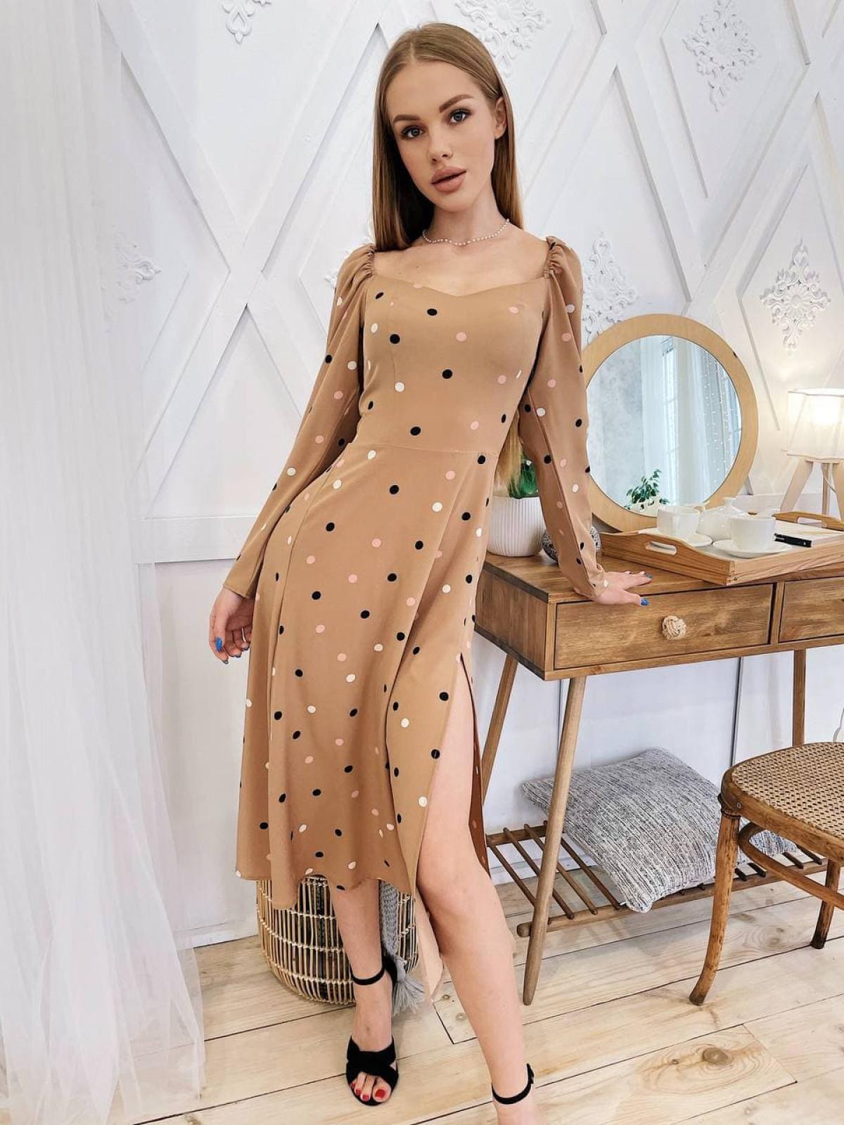 Платье Mirabella Бежевый