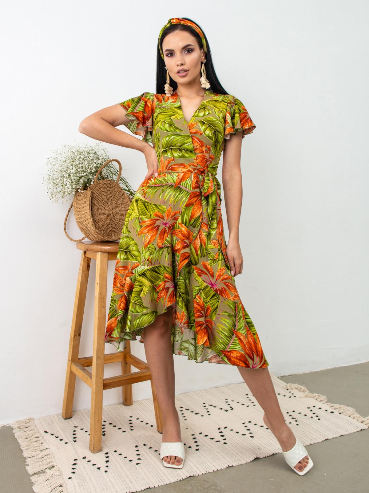 Платье Tropicana Серый принт