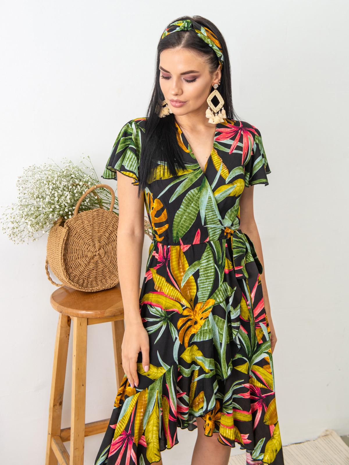Платье Tropicana Черный принт
