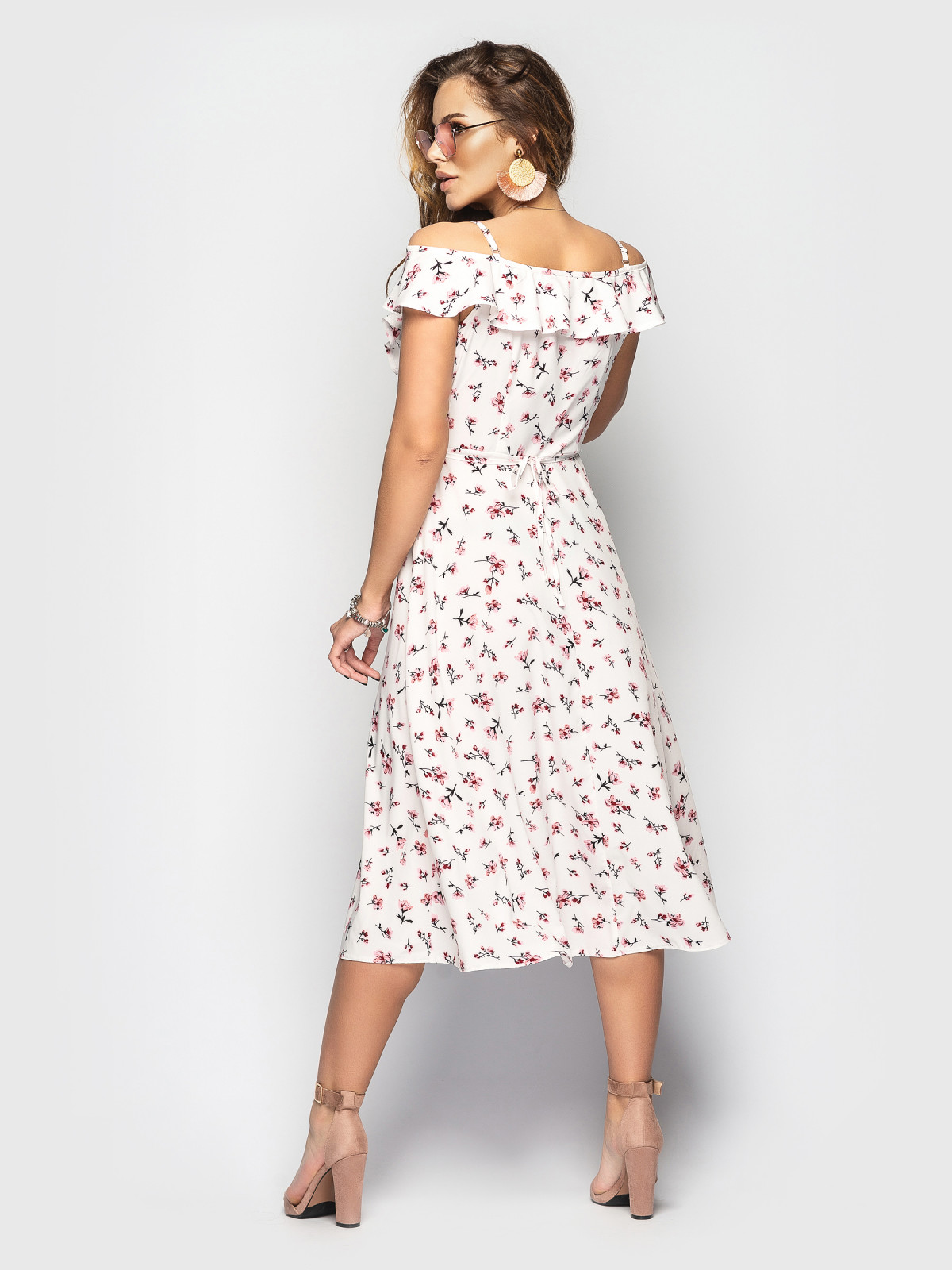 Платье Flamingo  Розовый цветок
