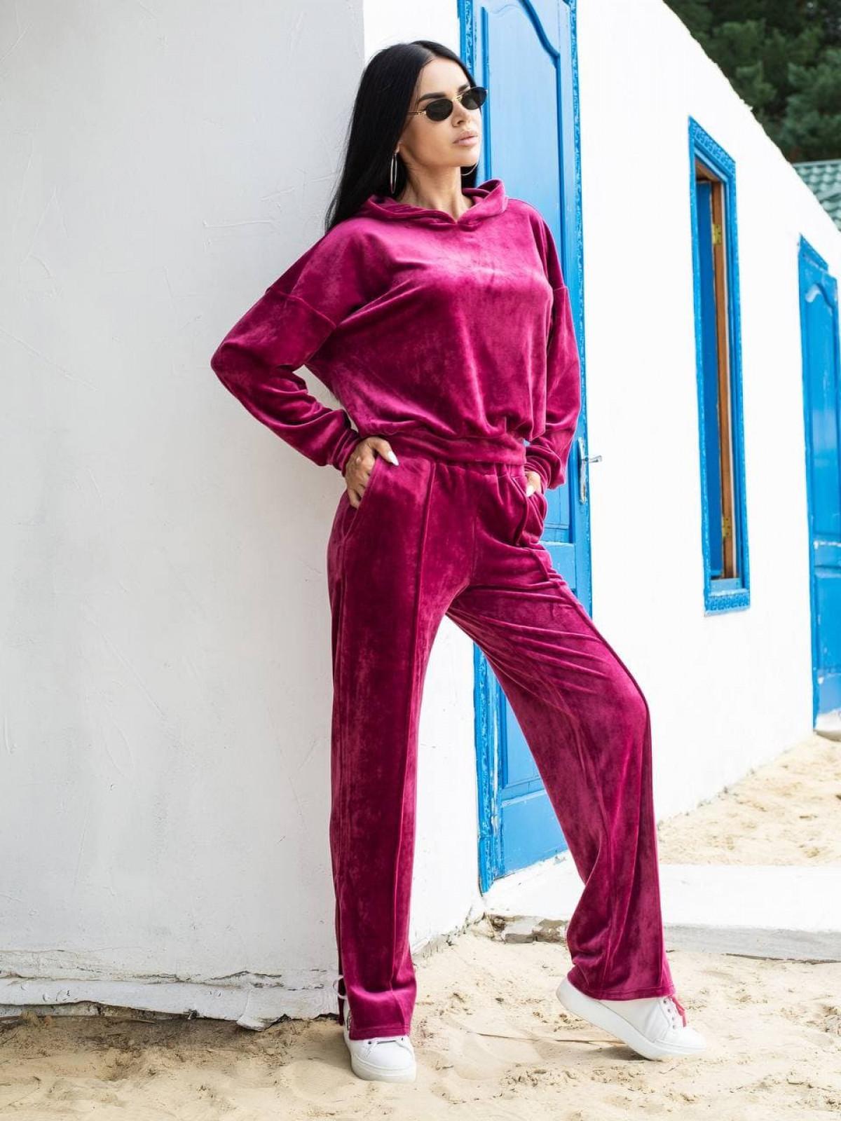 Спортивный костюм BENEFIT Малиновый
