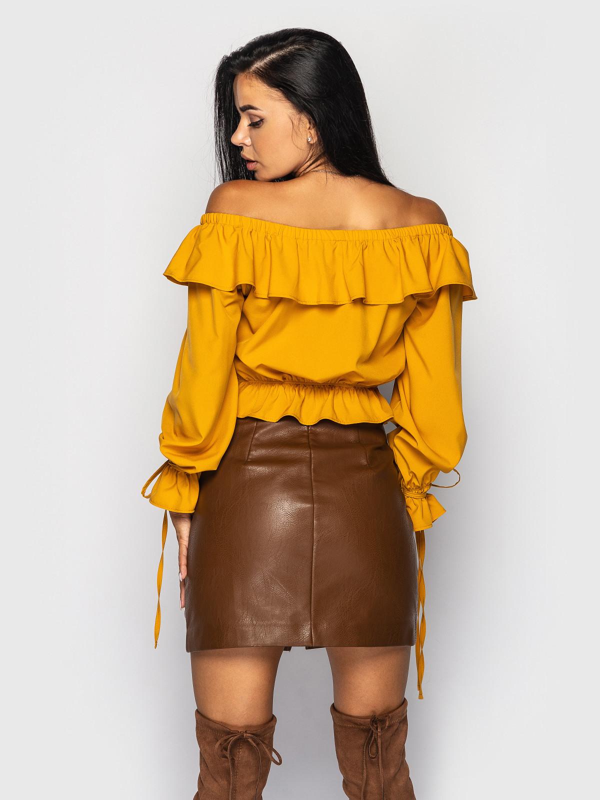 Блуза Anasteysha горчица