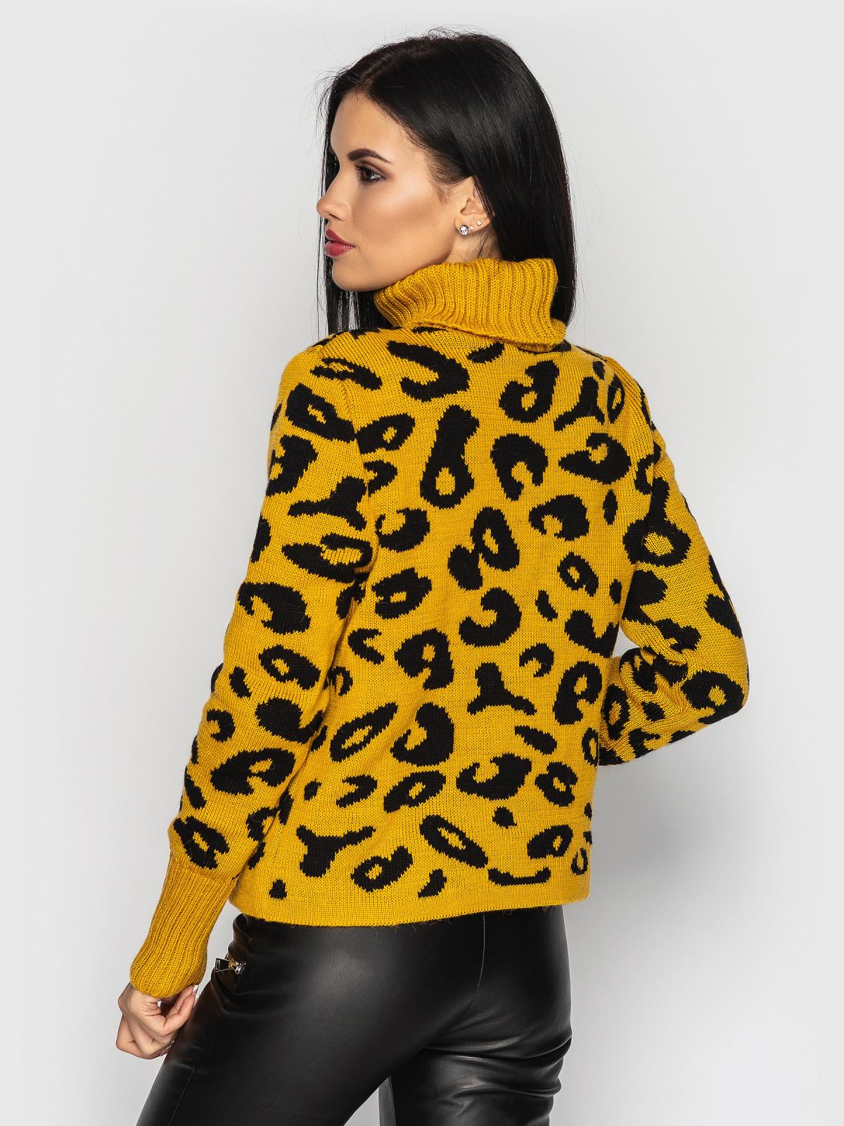 Свитер Gepard горчица