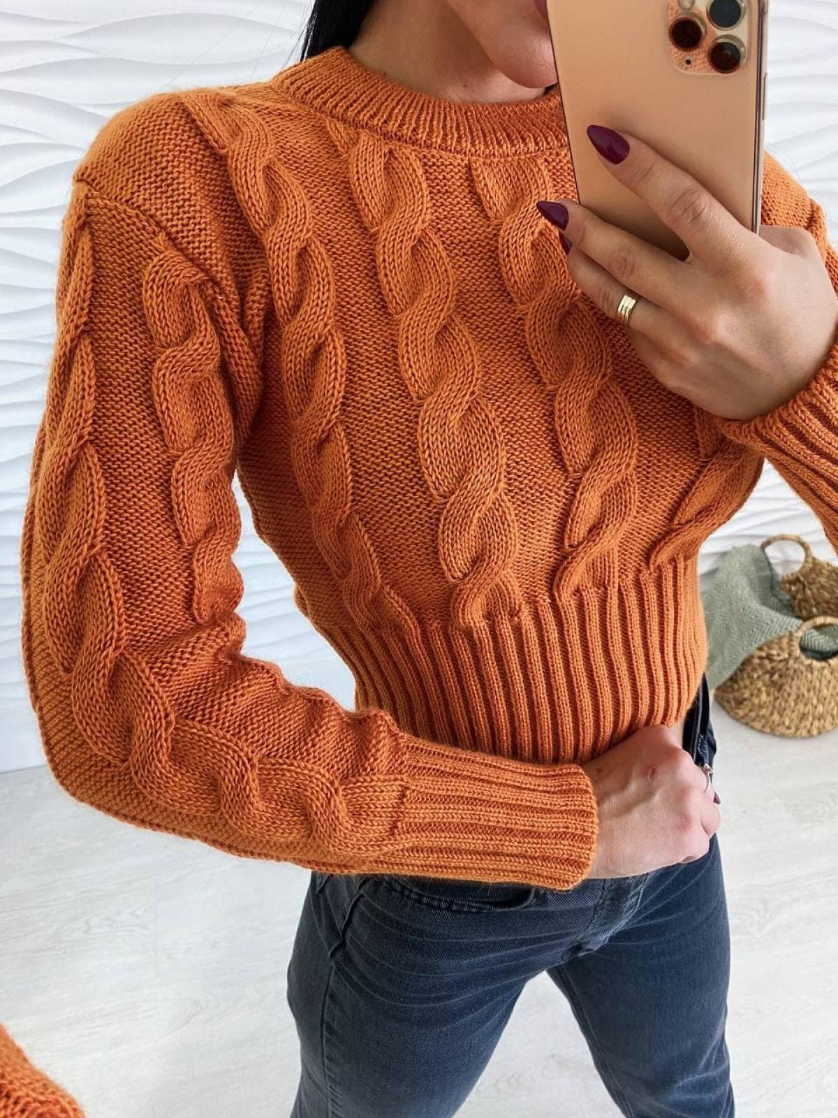 Свитер Late167 Оранжевый