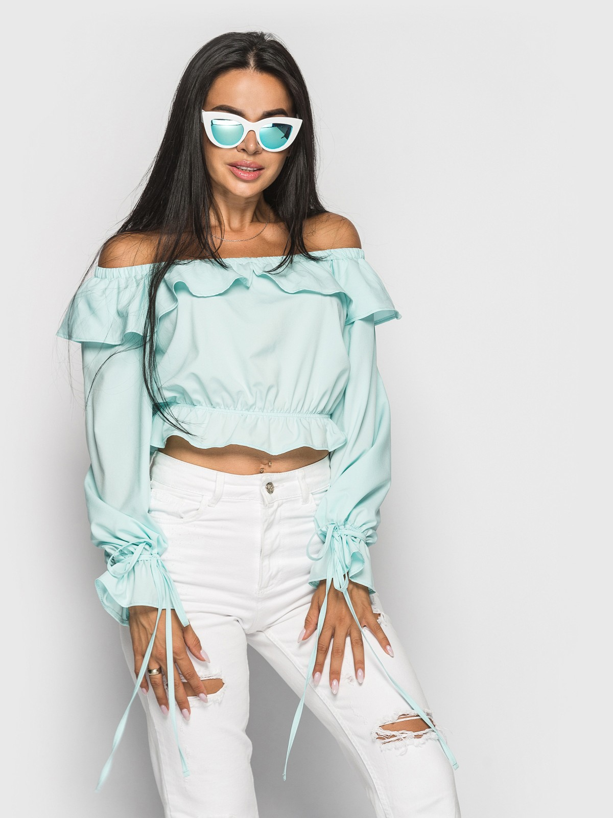 Блуза Anasteysha мятный