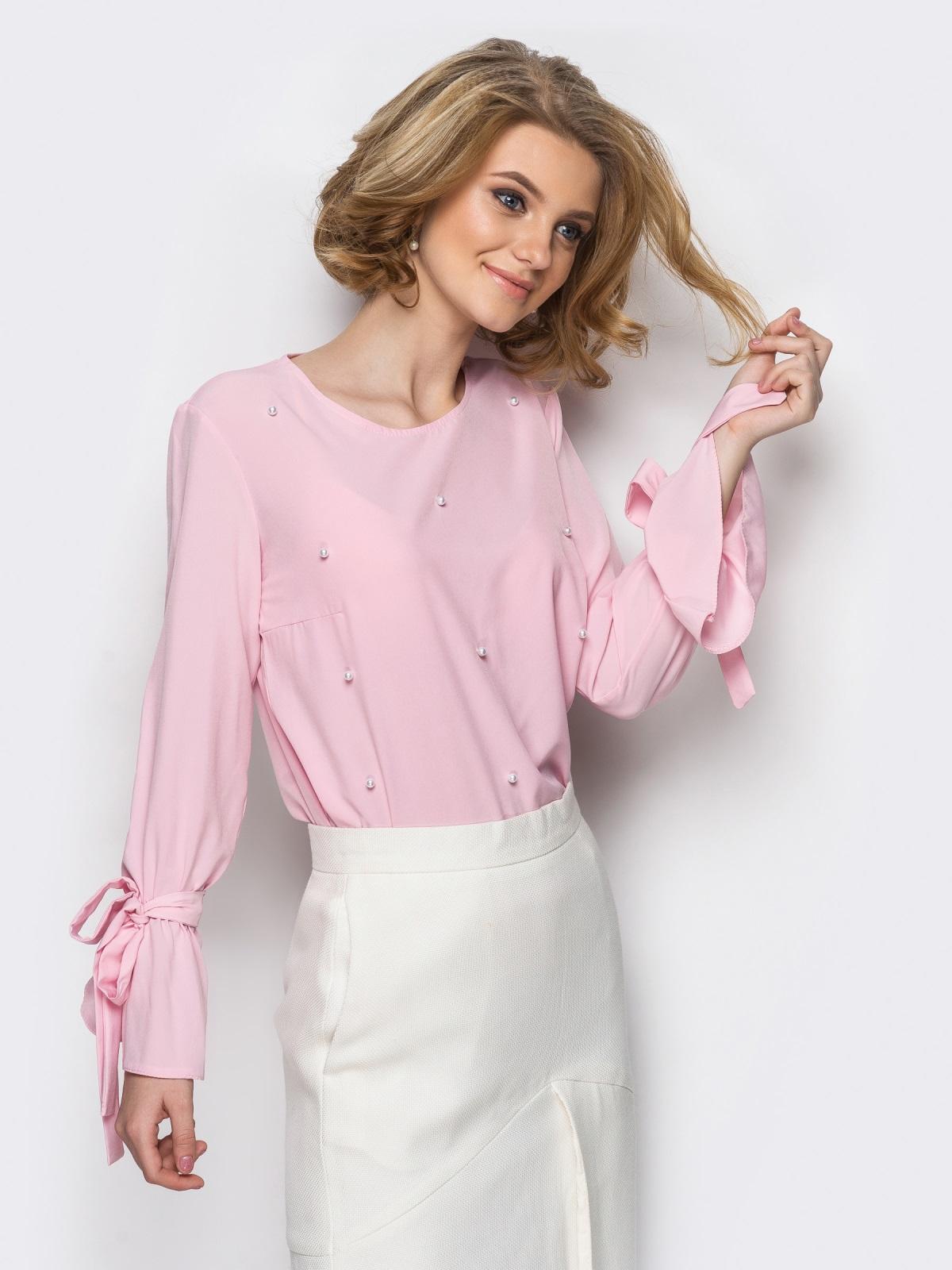 Блузка Britni розовый