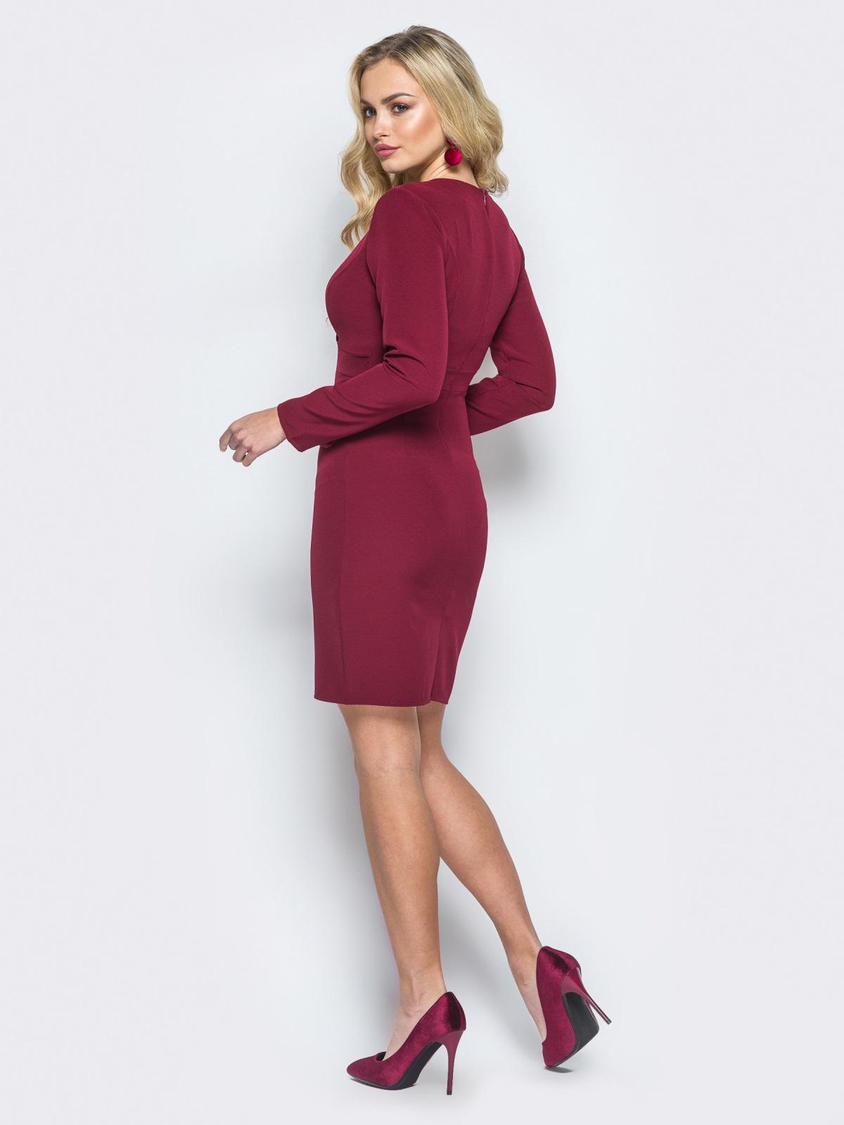 Платье Penelopa бордовый