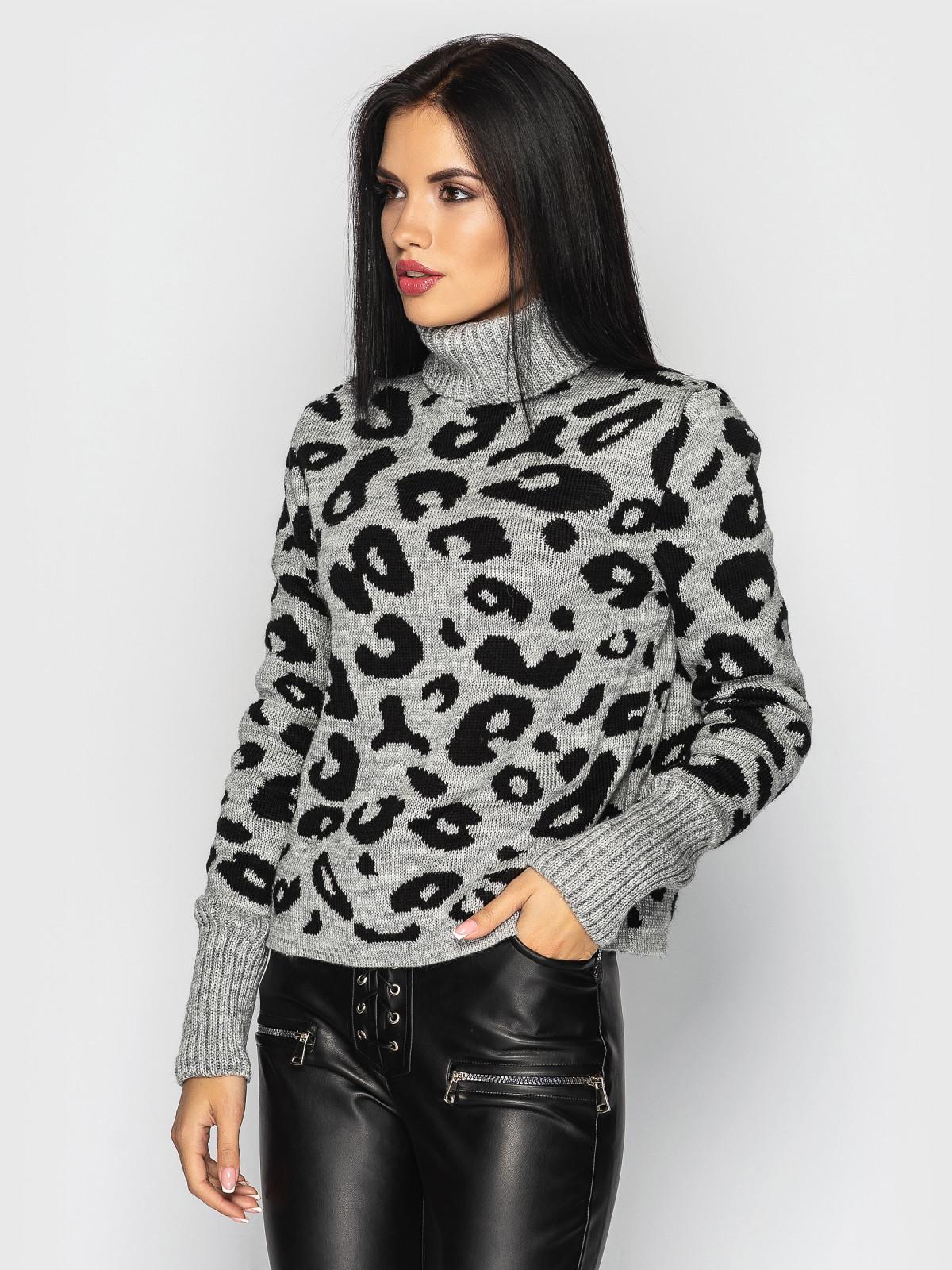 Свитер Gepard серый