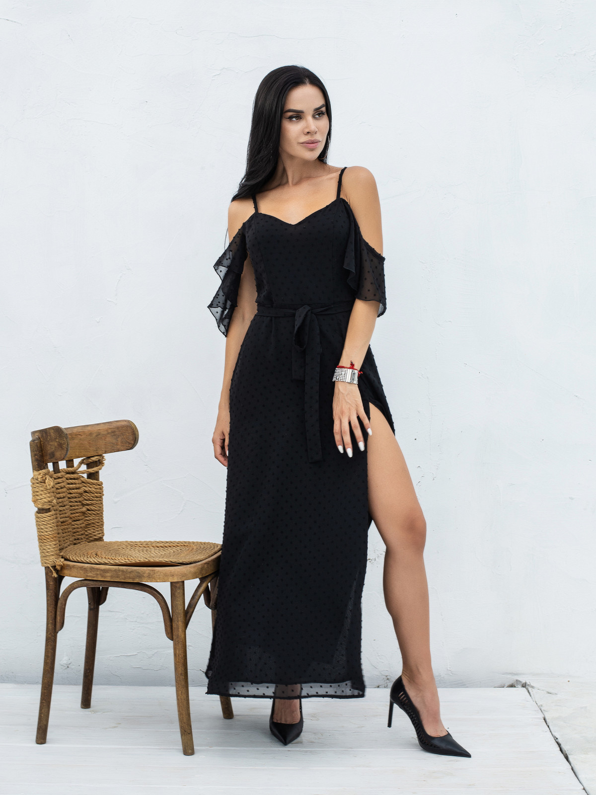 Платье VANILLE Черный