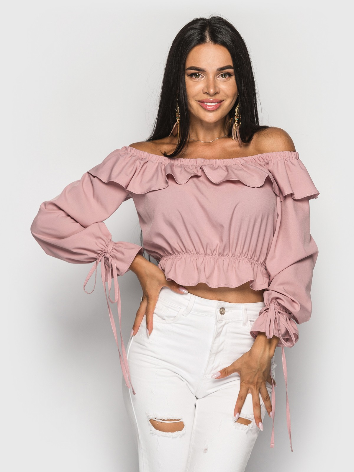 Блуза Anasteysha пыльная роза