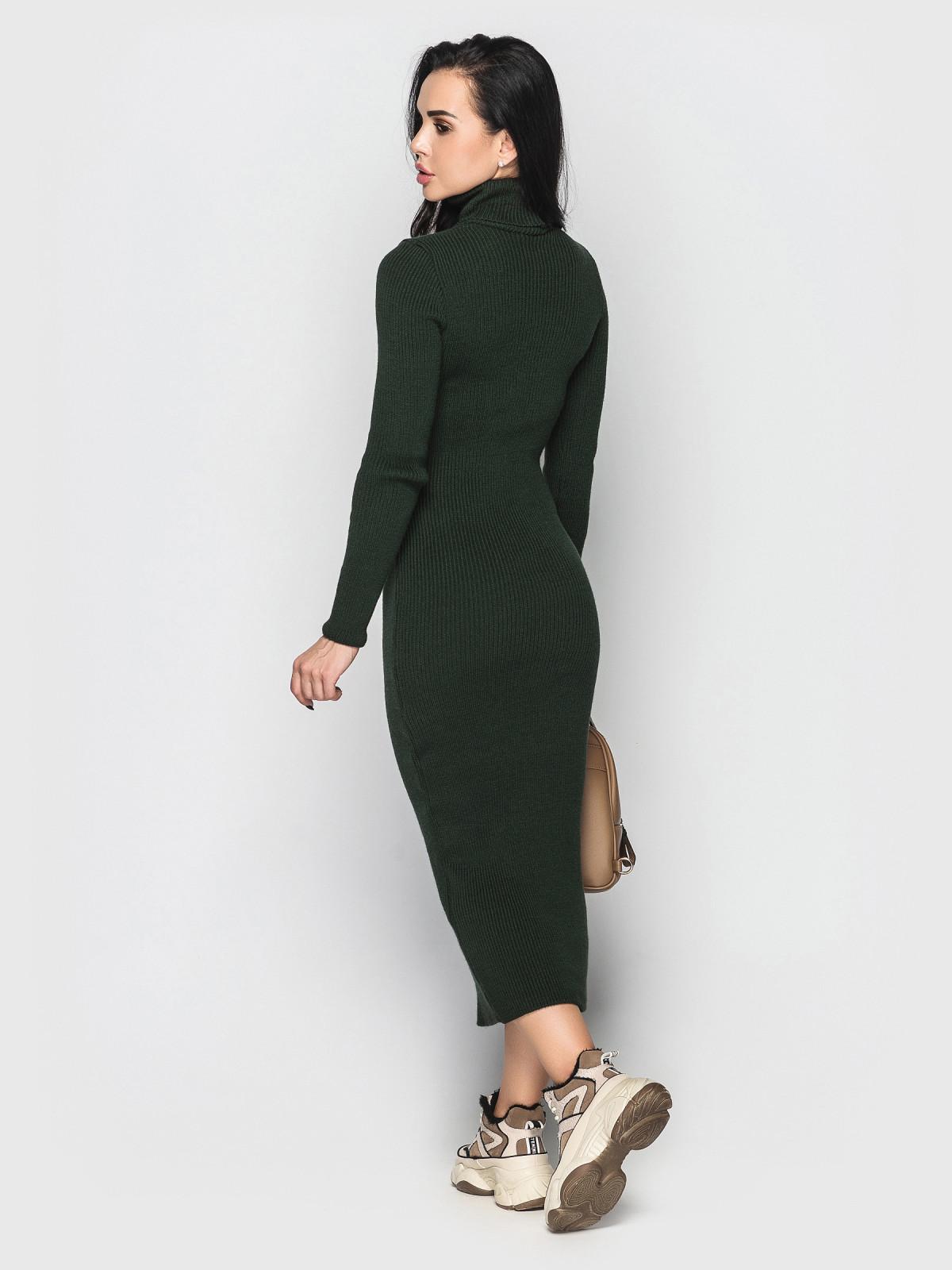Платье вязаное Simona бутылка