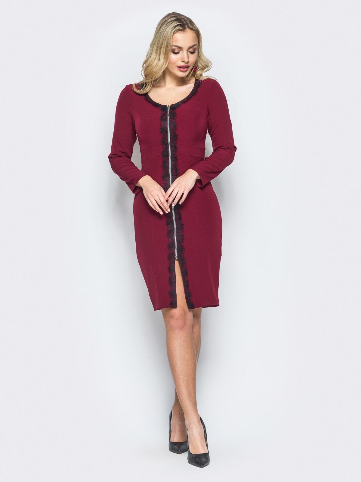 Платье Tifani бордовый