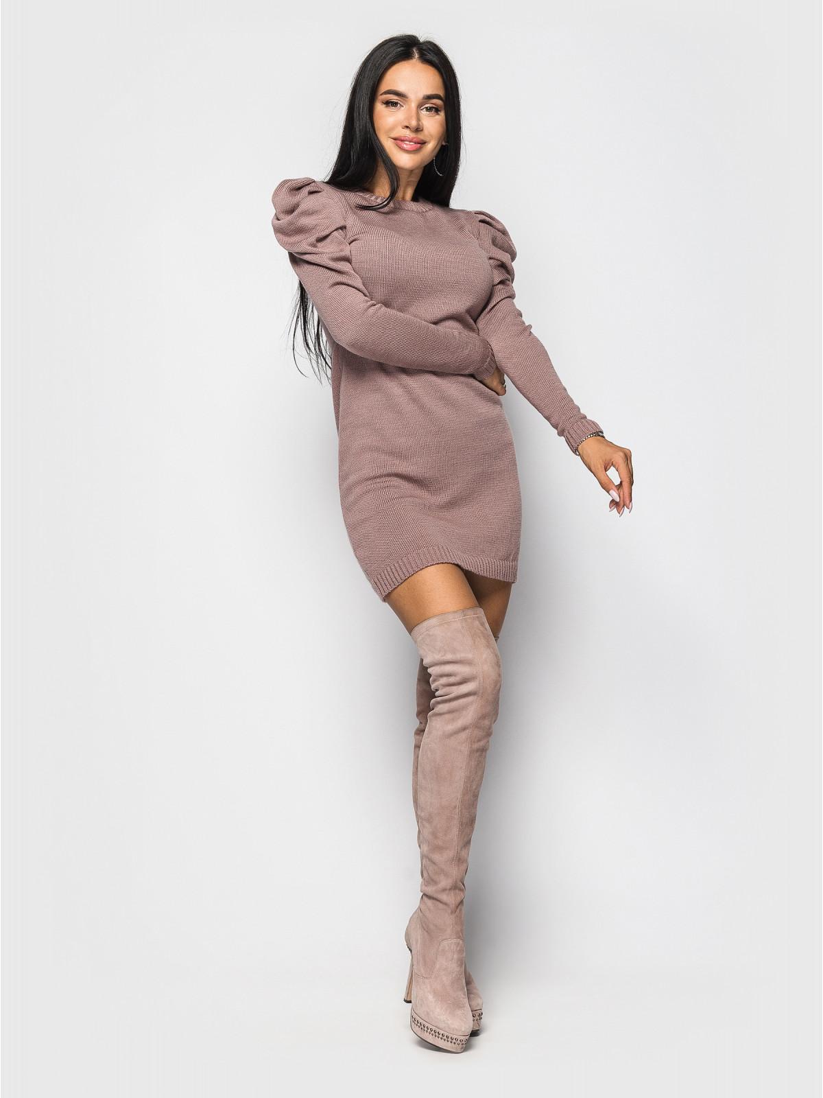 Платье Maria Кофейный