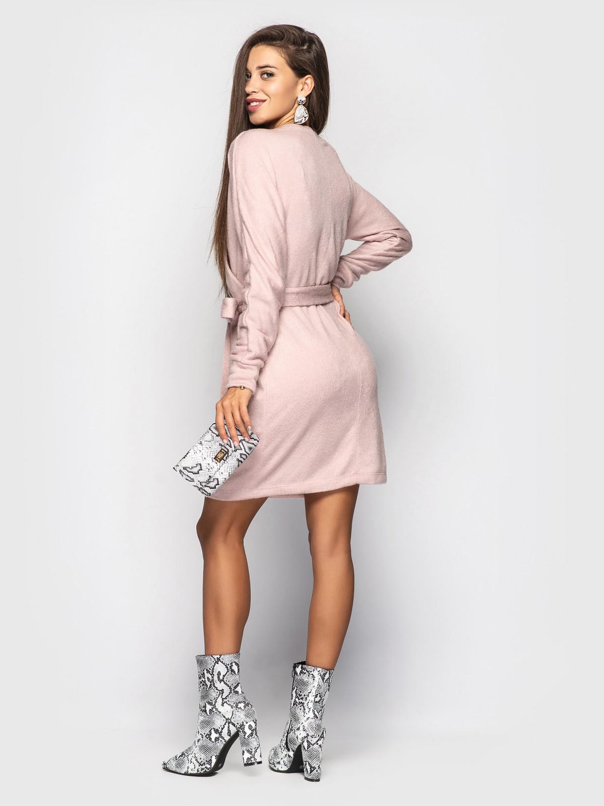 Платье Elza пудровый