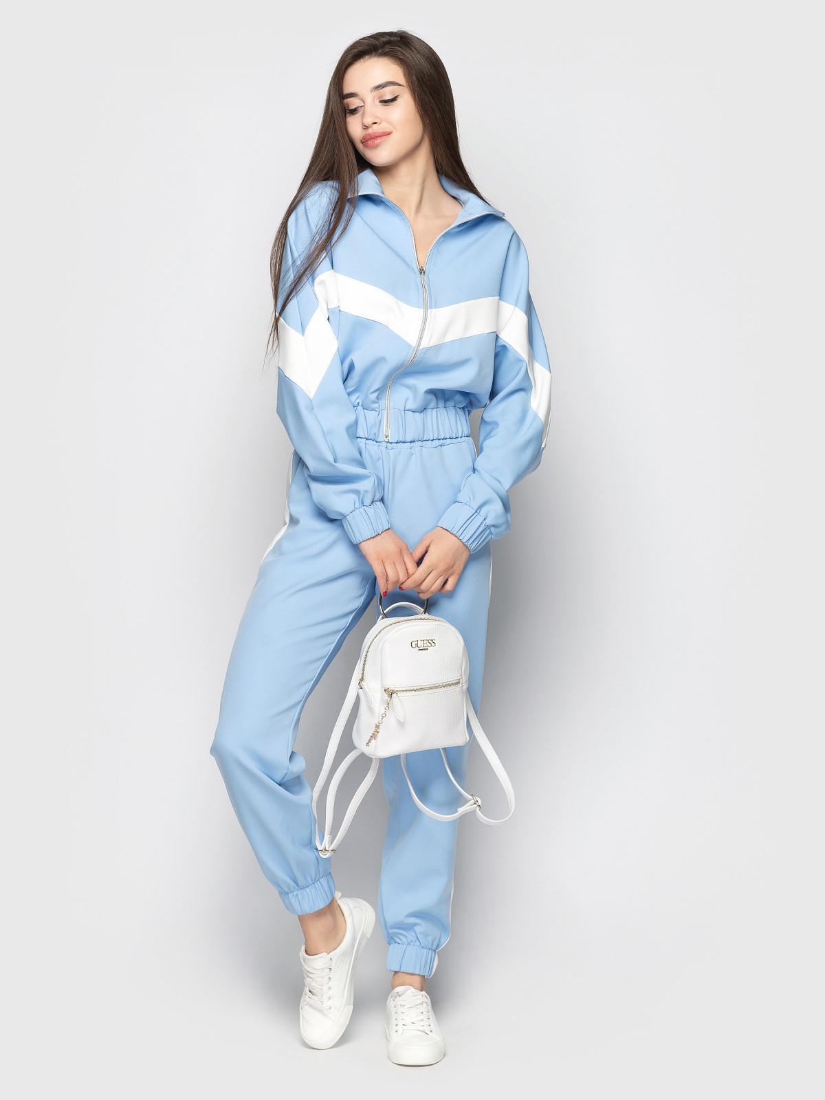 Спортивный костюм Freedom голубой-белый