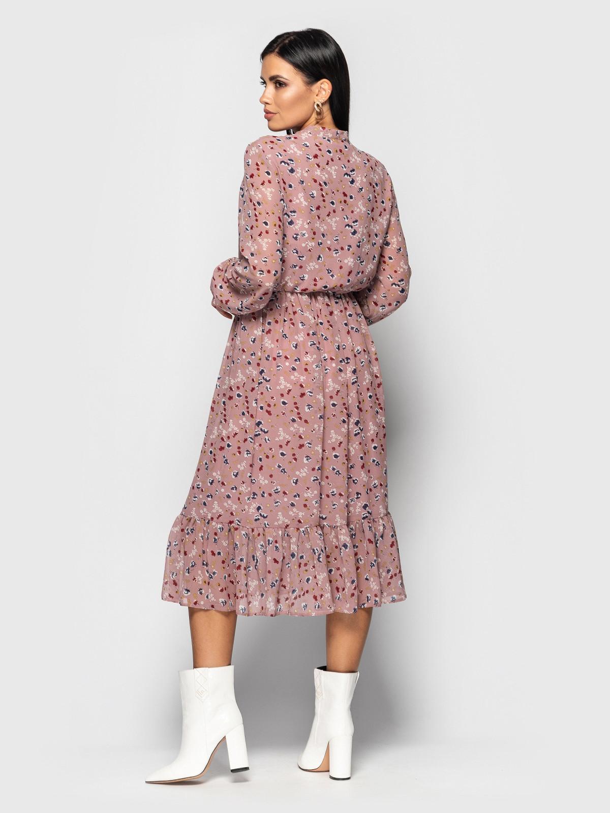Платье Polina пыльная роза
