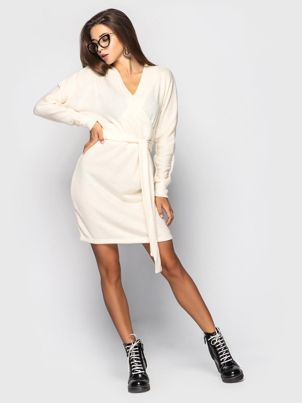 Платье Elza молочный