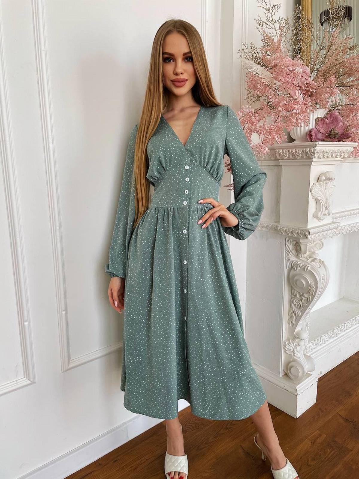 Платье CAMELIA Оливковый
