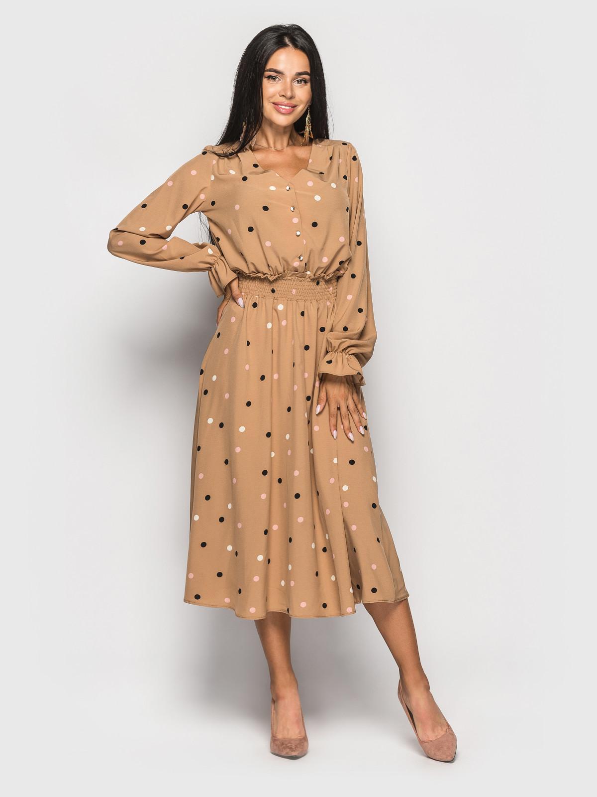 Платье Alsu  бежевый