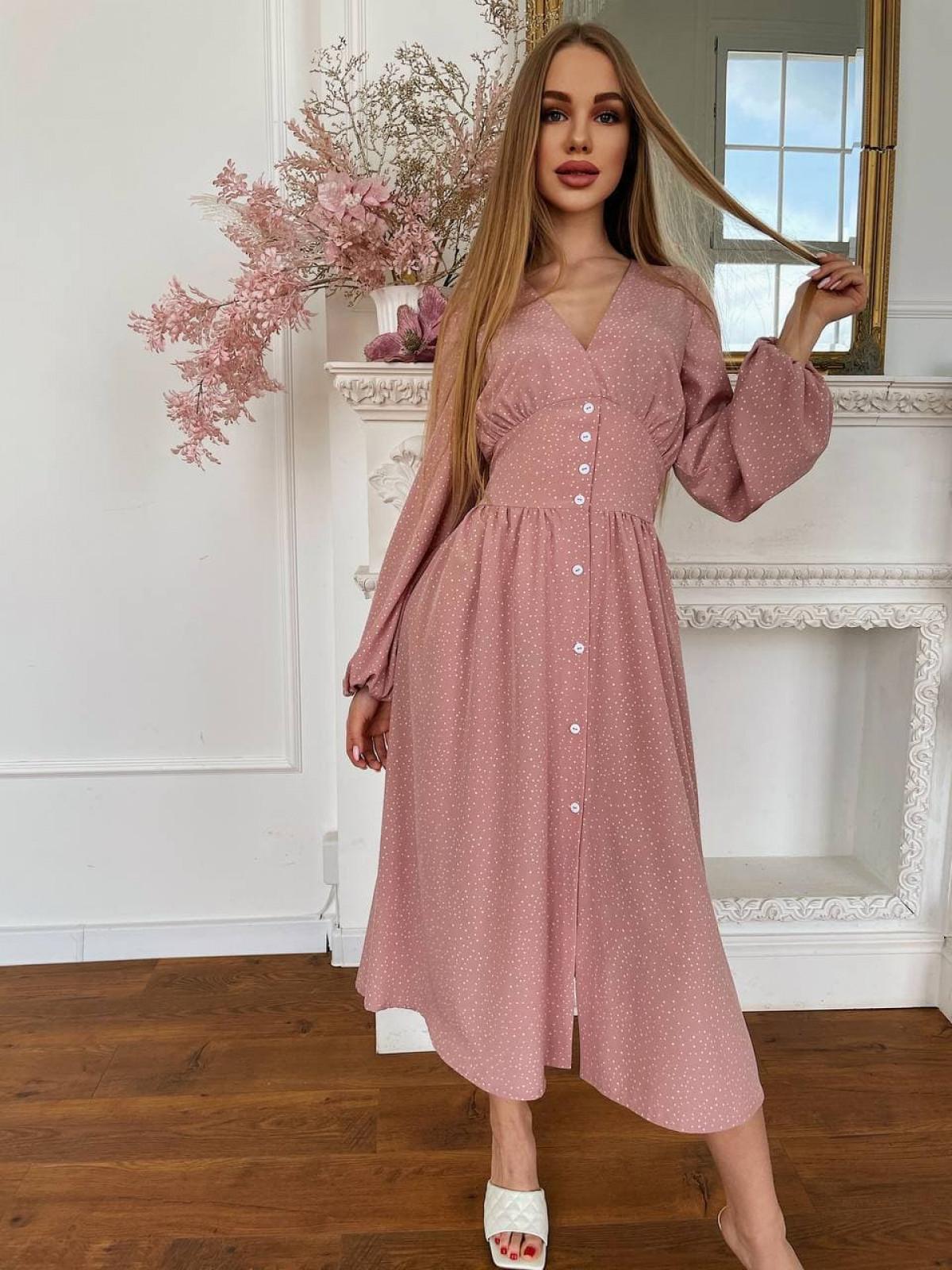 Платье CAMELIA Пудровый