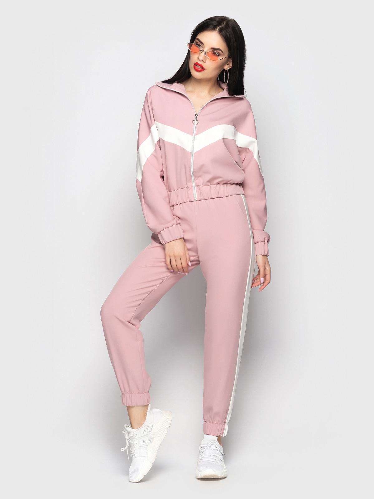 Спортивный костюм Freedom розовый-белый