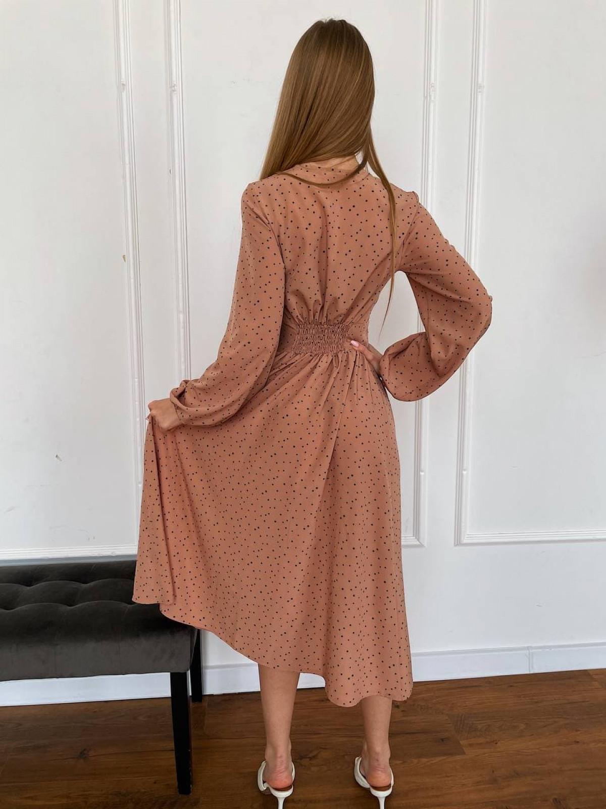 Платье CAMELIA Бежевый