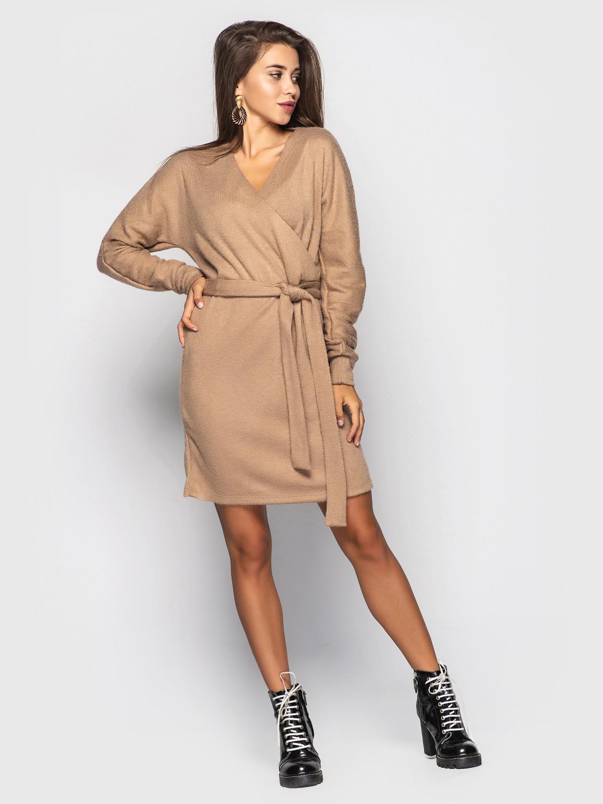 Платье Elza кофейный