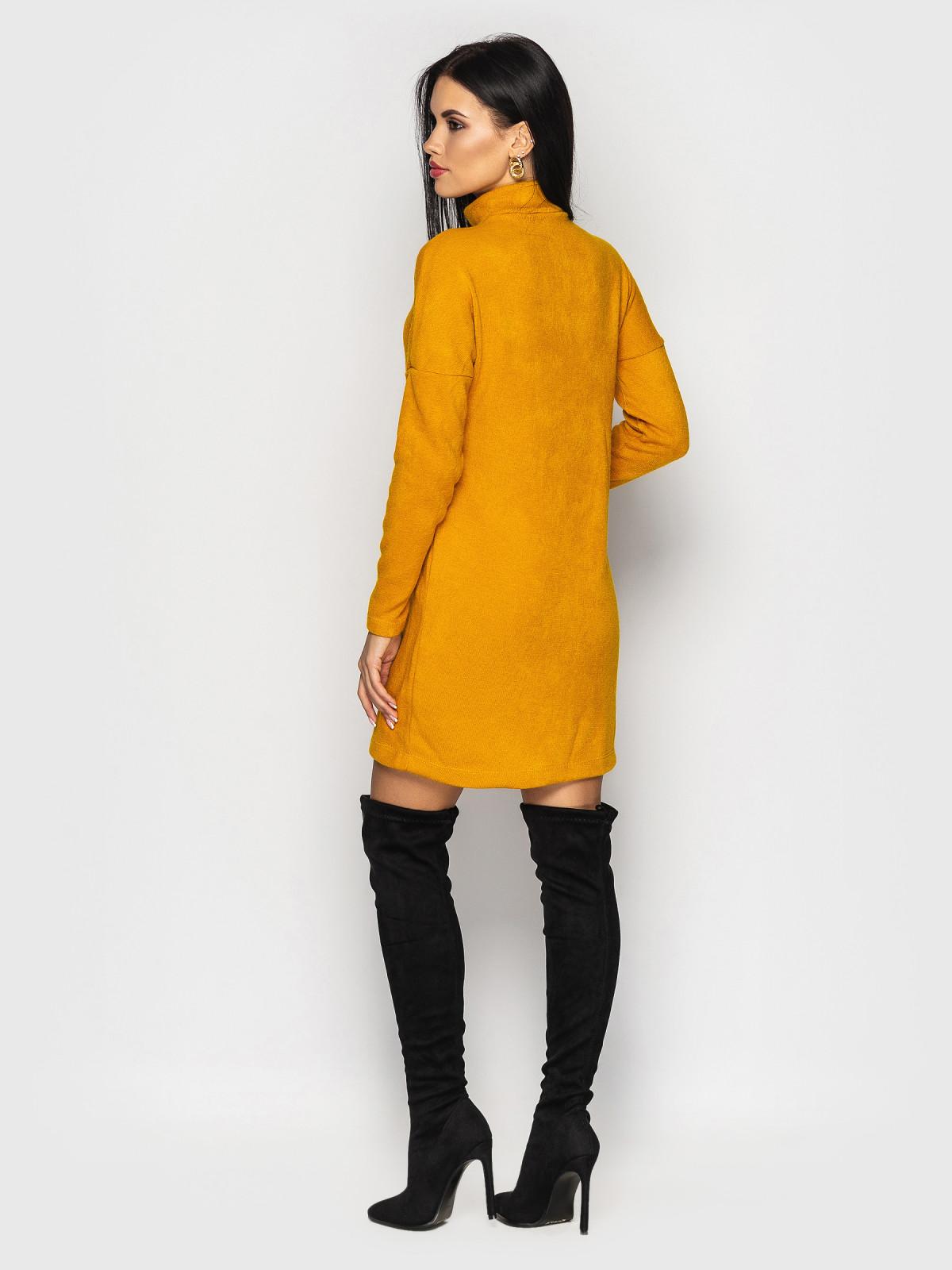 Платье Inga горчичный