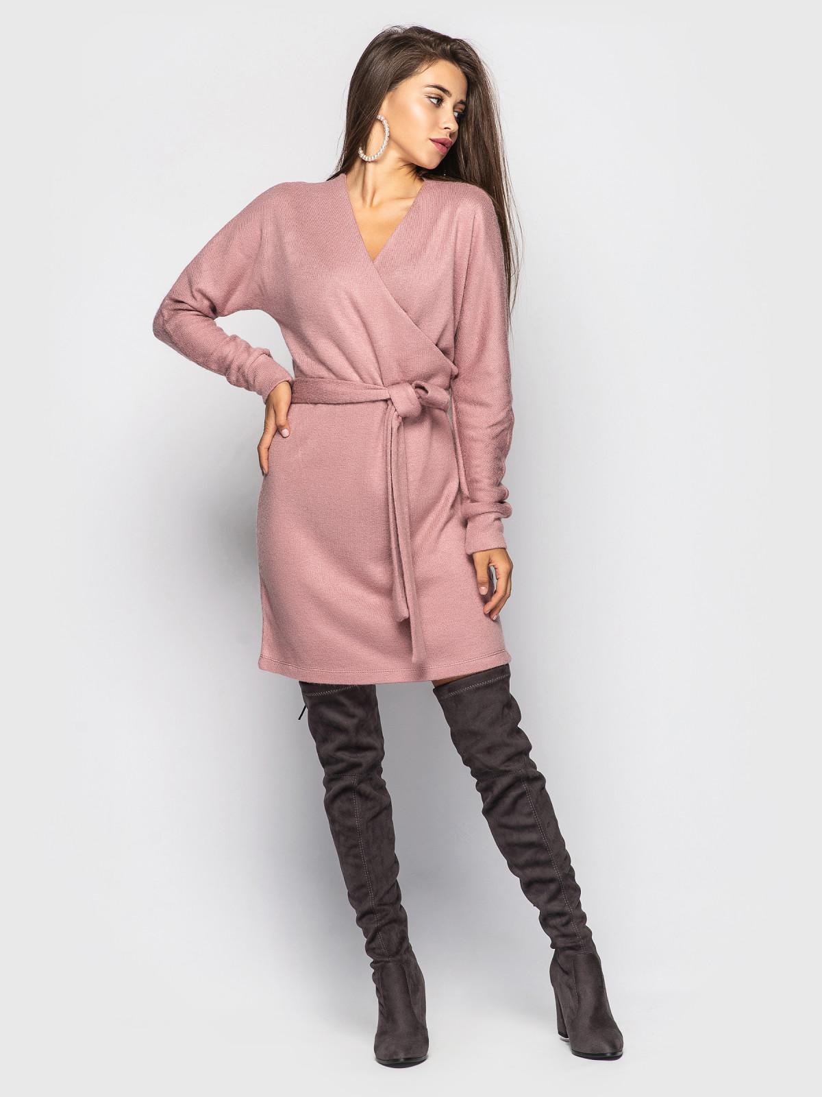 Платье Elza розовый
