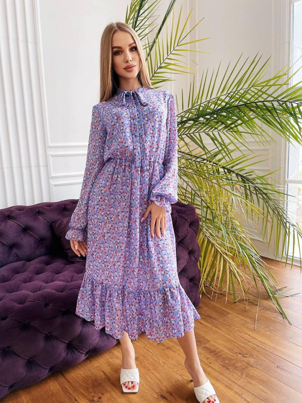Платье Polina лавандовый