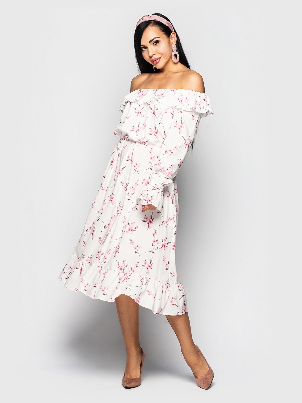 Платье Magic  белый