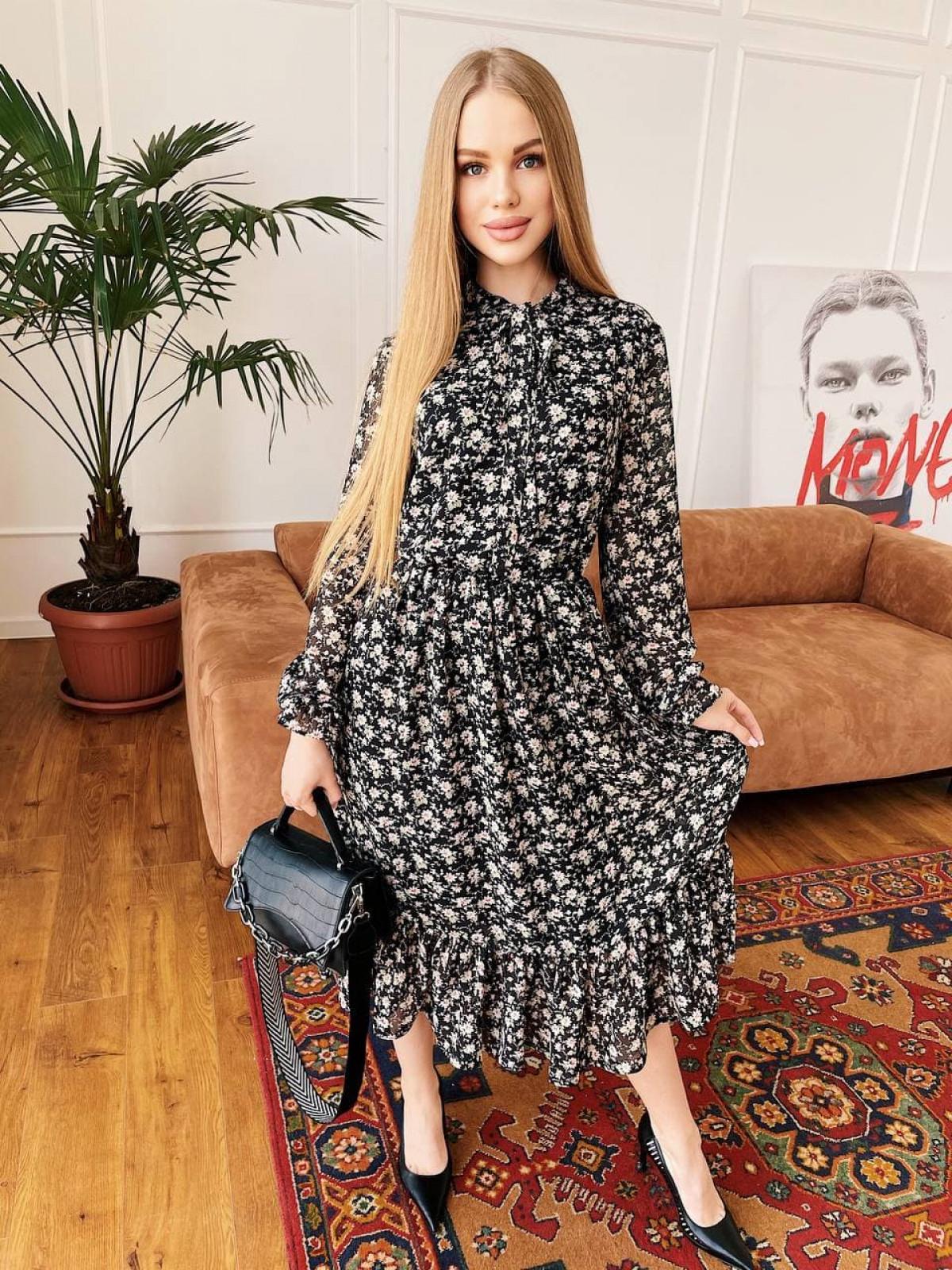 Платье Polina черный
