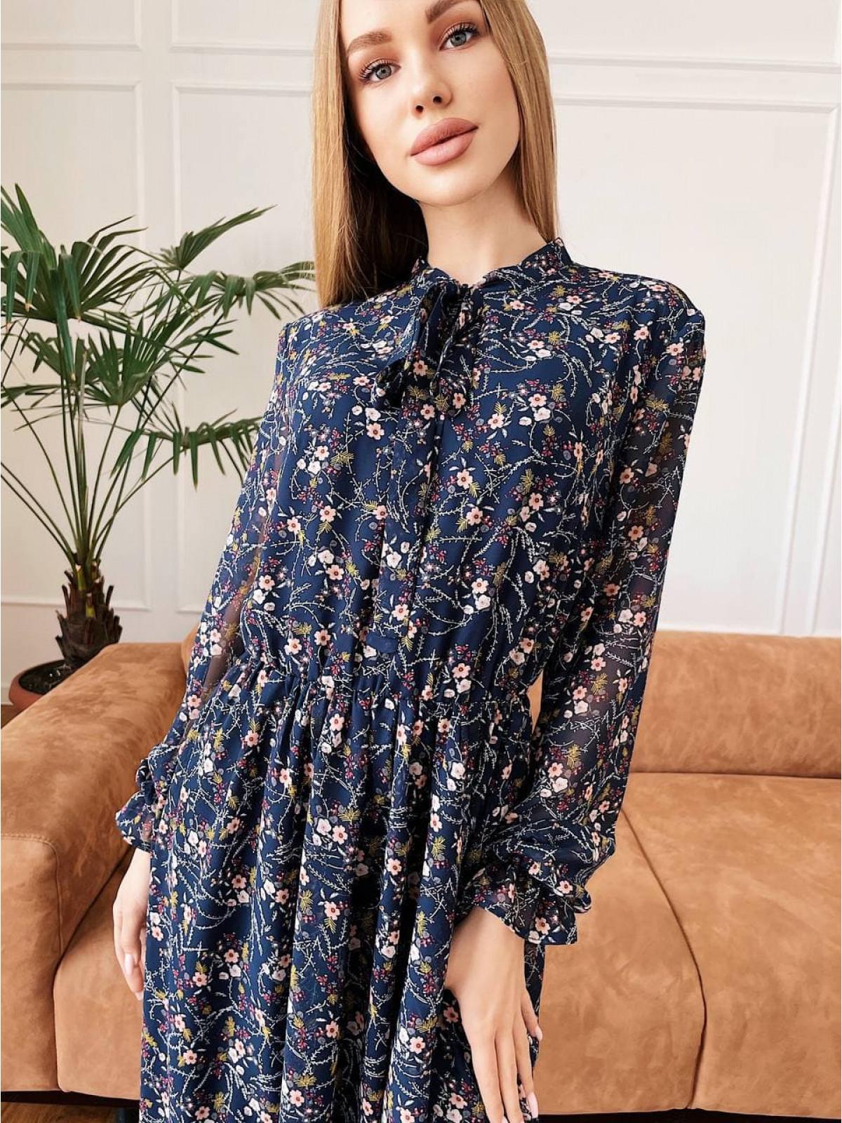 Платье Polina синий