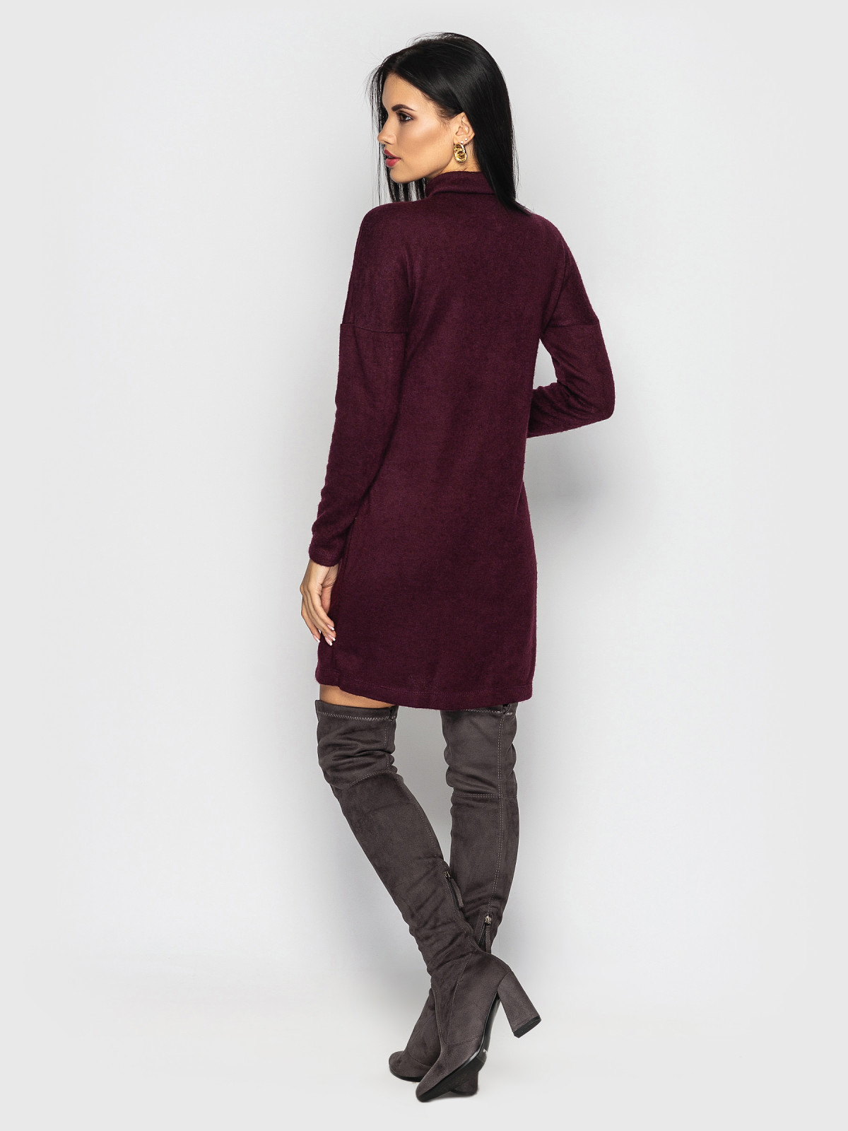 Платье Inga Бордовый