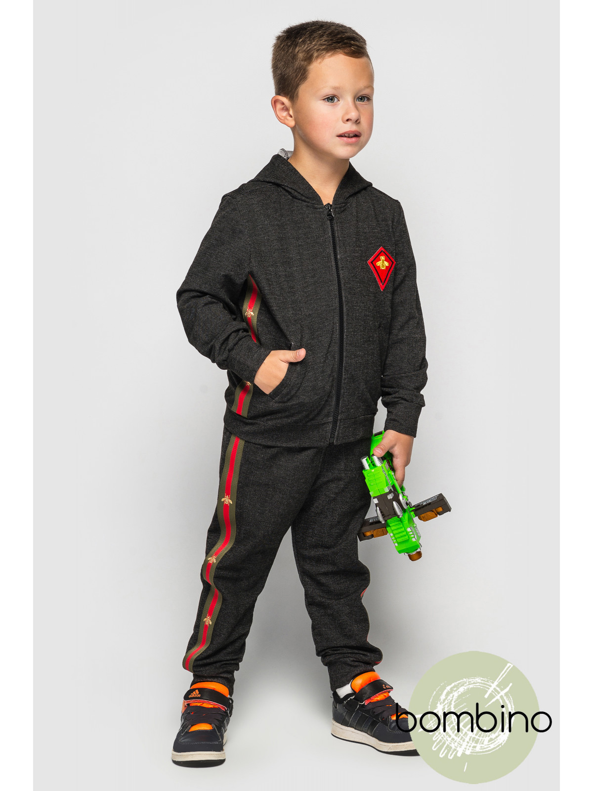 Спортивный костюм GabrielK Темно-серый