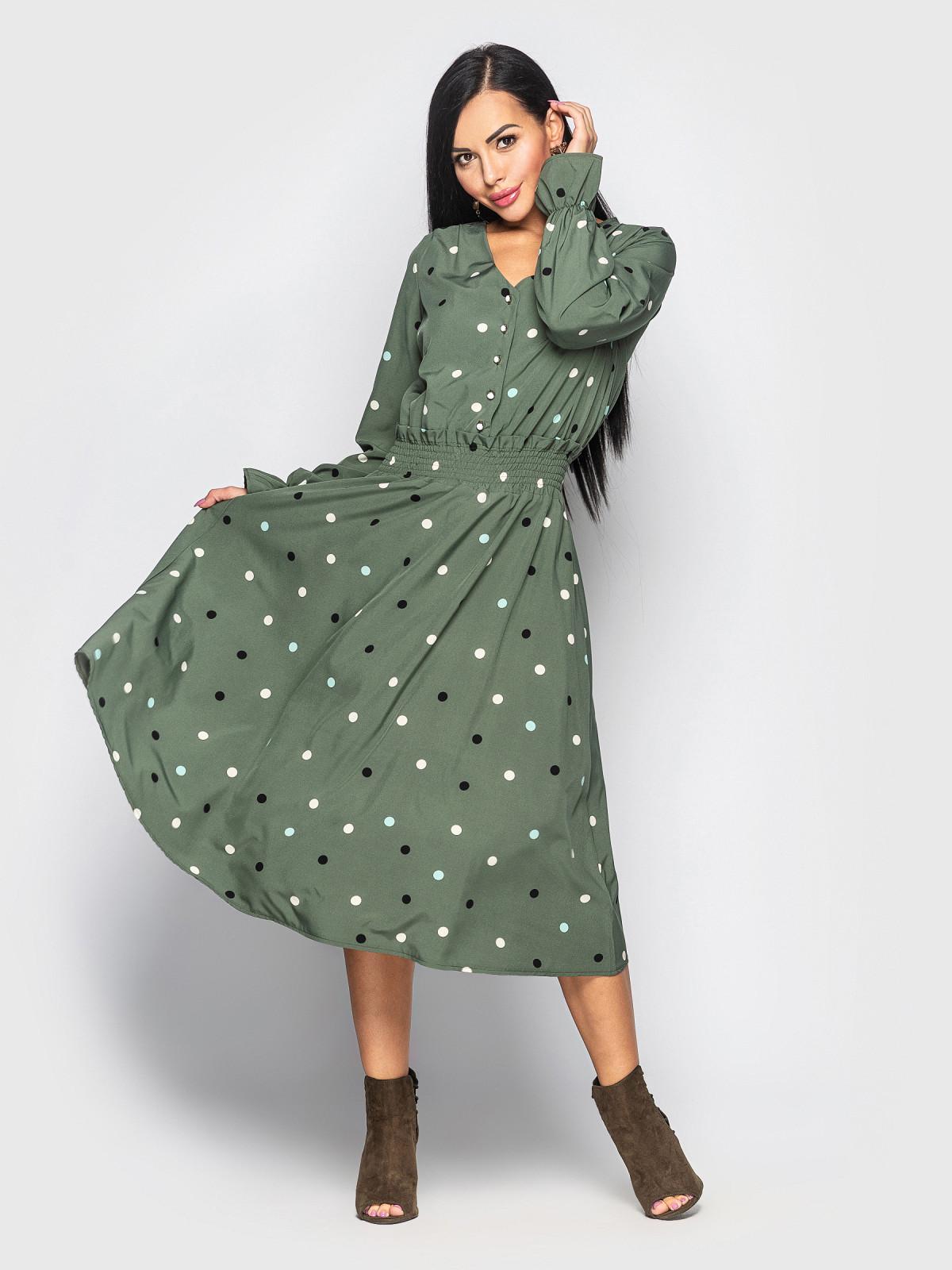 Платье Alsu хаки