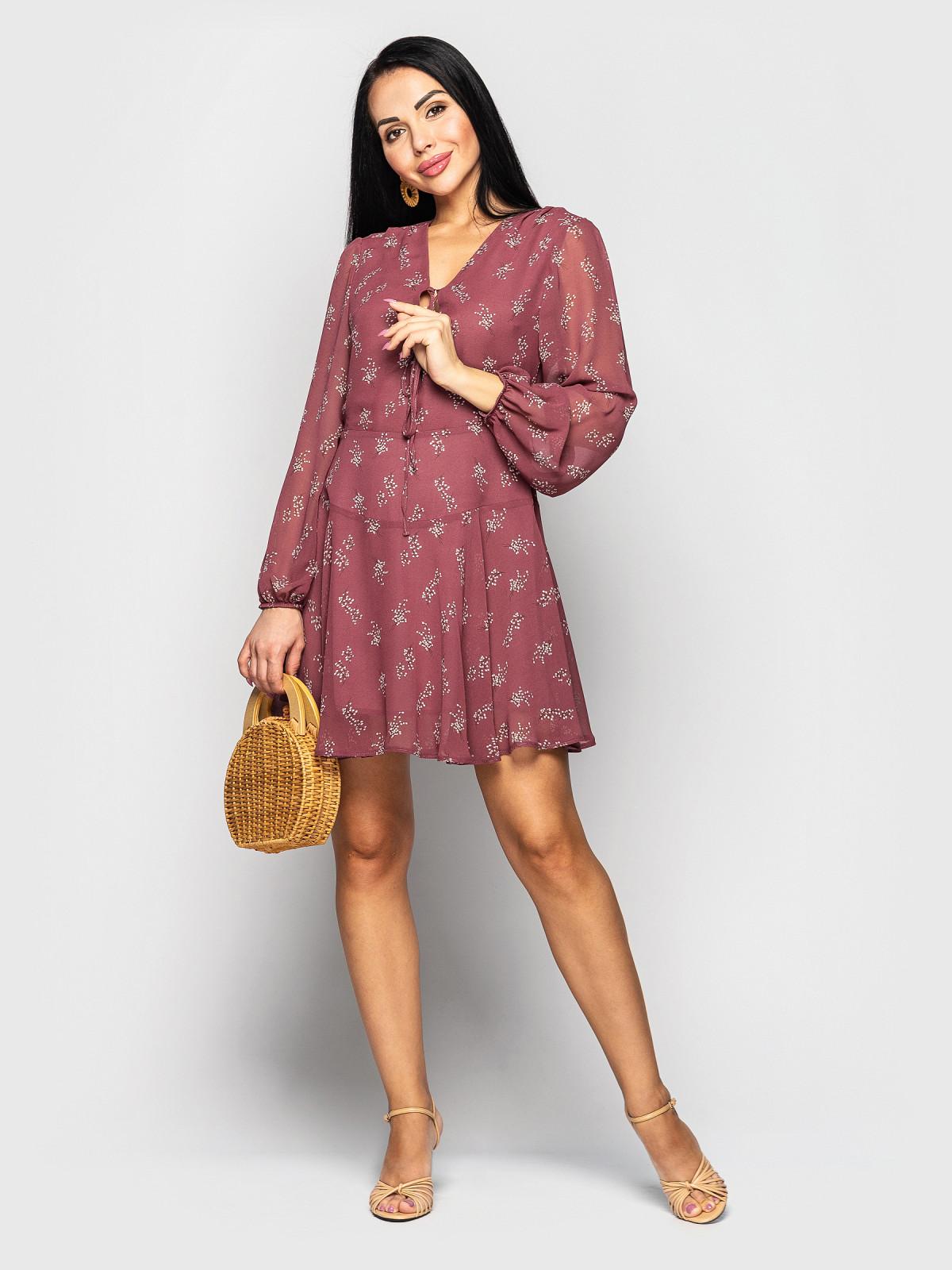 Платье Shakirashifon фрезовый
