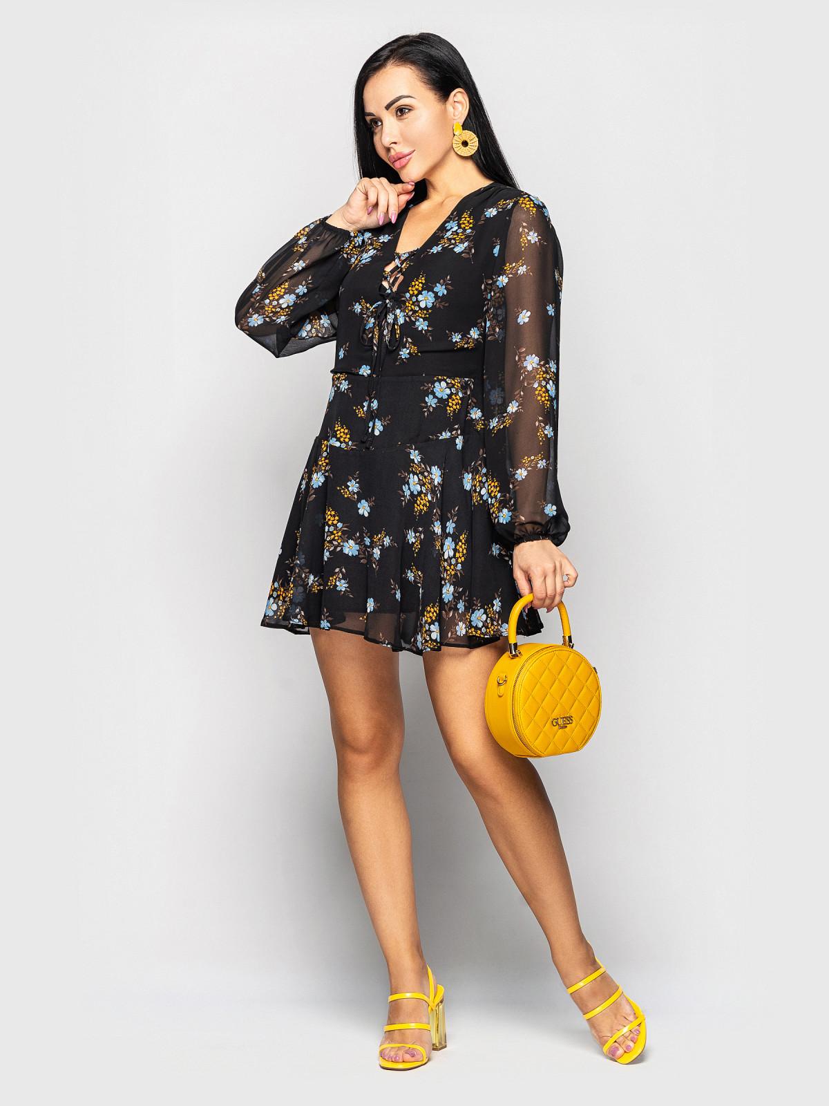 Платье Shakirashifon черный