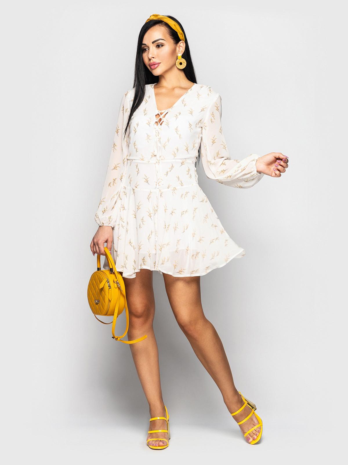 Платье Shakirashifon молочный