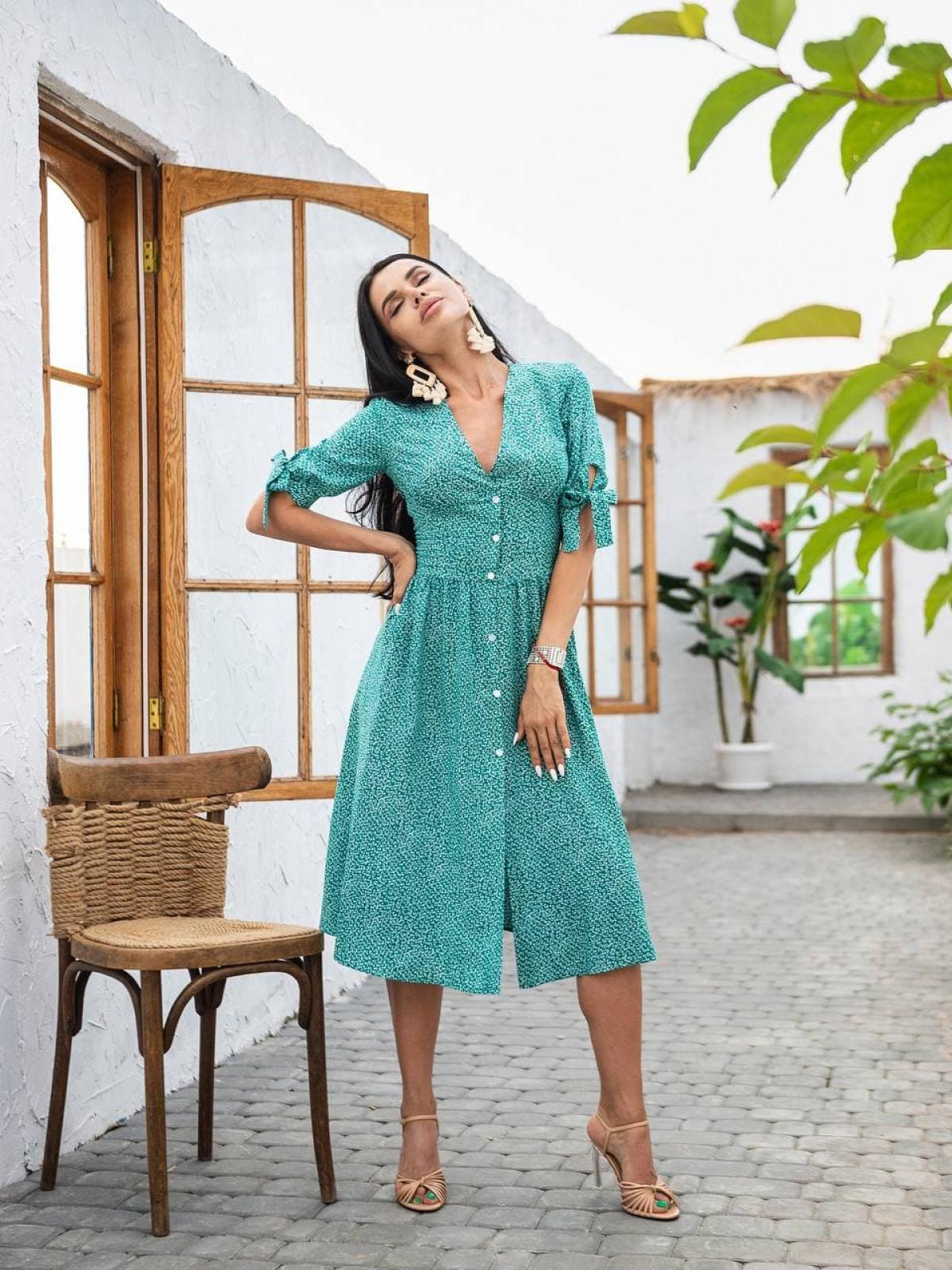 Платье CHERRY Зеленый