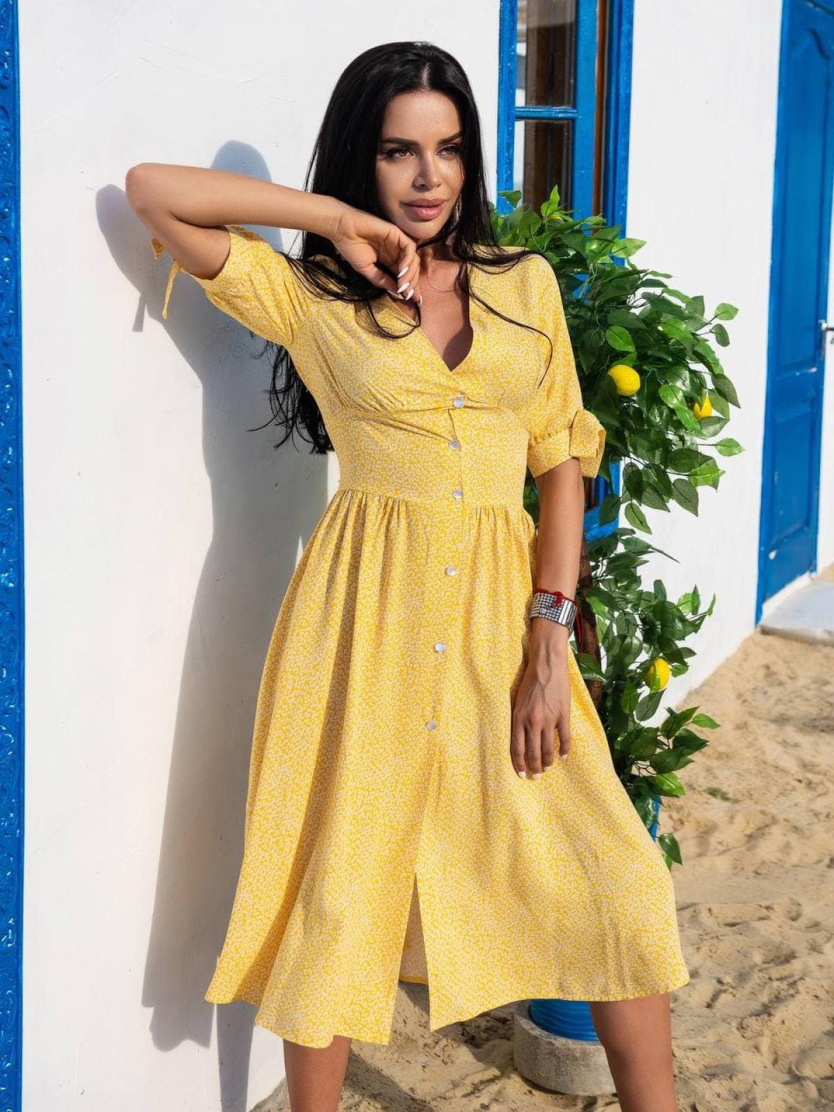 Платье CHERRY Желтый