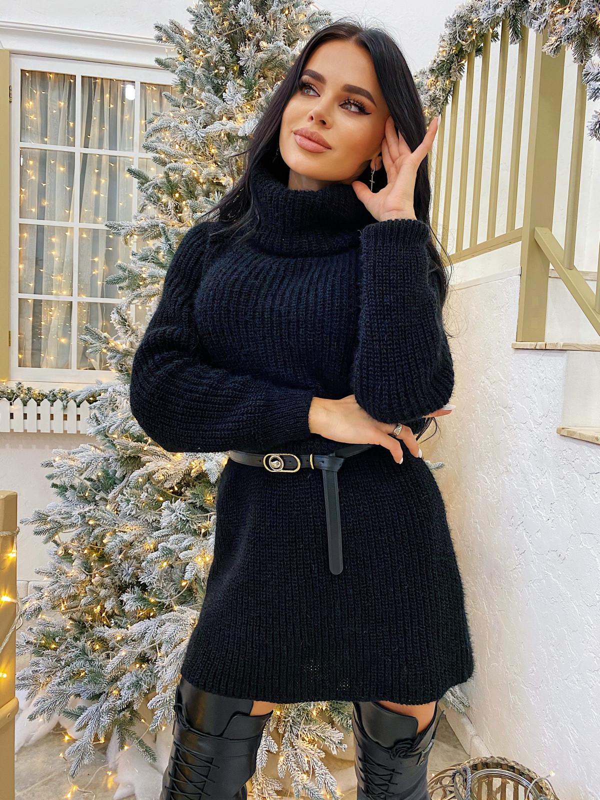 Платье вязаное Lolita черный