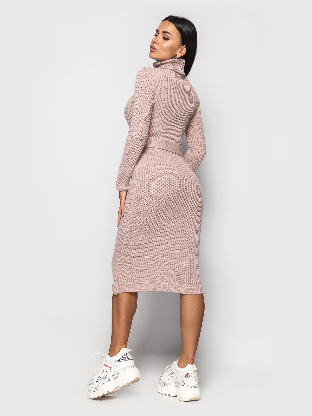 Платье вязаное Jasmine Пудра