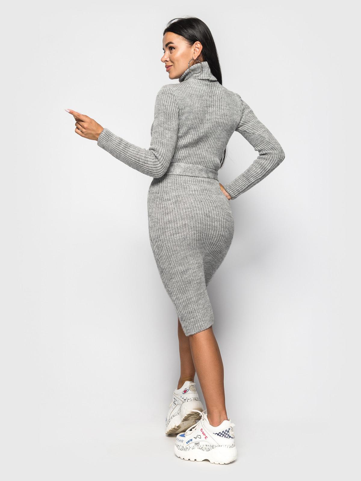 Платье вязаное Jasmine Серый
