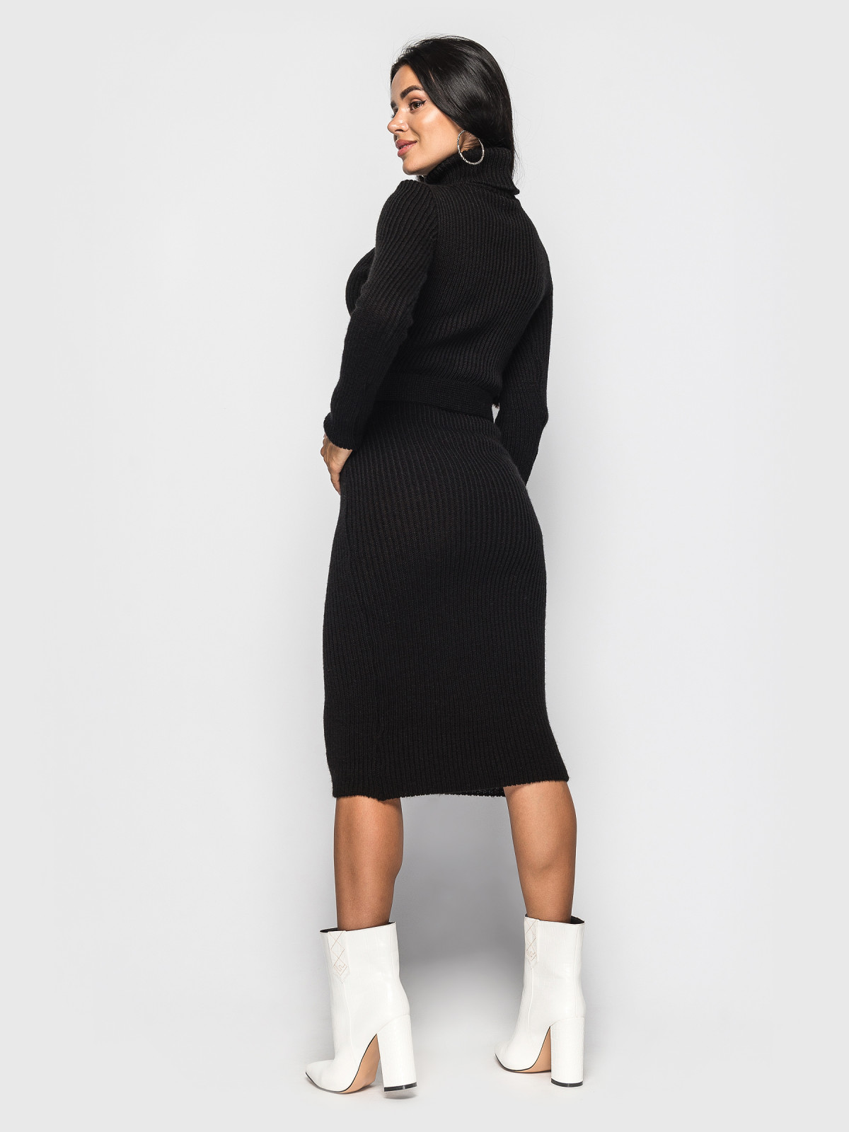 Платье вязаное Jasmine Чёрный